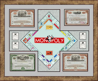 Monopoly Collection Shadowbox