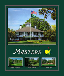 Masters Clubhouse Framed