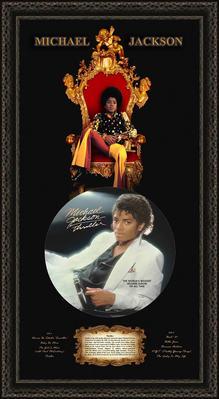 Michael Jackson Tribute Shadowbox