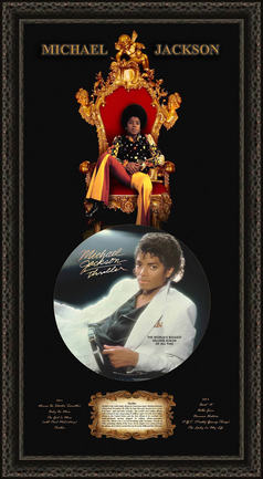 Michael Jackson Tribute Shadowbox