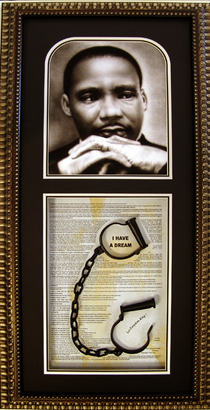 "Let Freedom Ring {""I Have a Dream"") King Shadowbox"