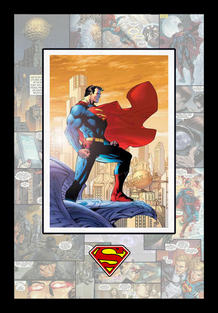 Superman D.C. Comics Shadowbox
