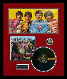 Sgt. Pepper's Lonely Heart Club Band Album Shadowbox