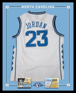Michael Jordan Jersey Shadowbox