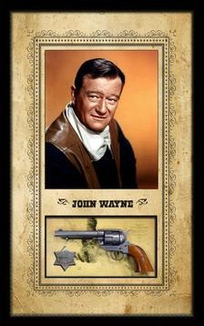 John Wayne Pistol Shadowbox