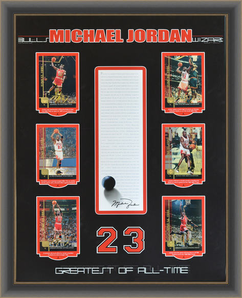 Michael Jordan Collector Shadowbox