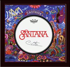 Santana Drumhead Shadowbox