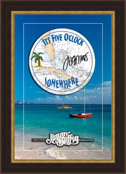 Jimmy Buffet Collection Shadowbox