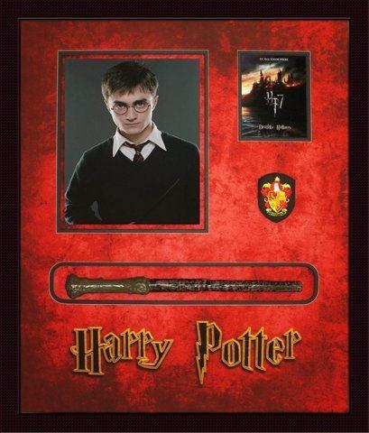 Harry Potter Magic Wand Shadowbox