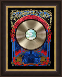 Grateful Dead Record Shadowbox