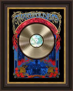Grateful Dead Record Shadowbox