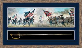 Civil War Sword Shadowbox