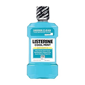 Listerine Cool Mint Mouthwash - 250ml