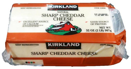 Kirkland Sharp White Cheddar - 2lbs