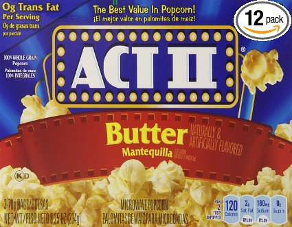 Act II Butter Popcorn - 6pack
