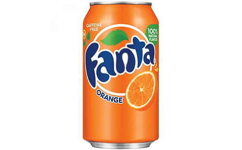 Fanta - Orange Soda -6pk
