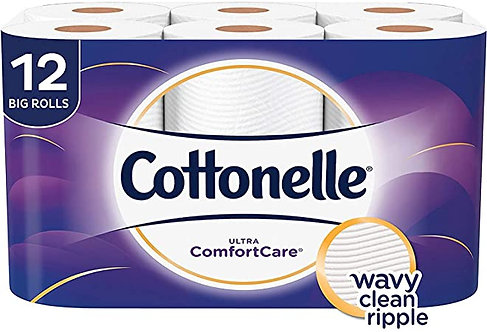 Cottonelle Toilet Paper -12 Rolls