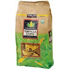 Kirkland Organic Tortilla Chips 1.13kg