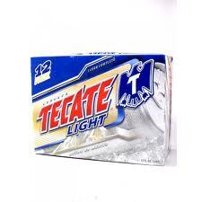 Tecate Light 12pk