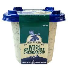 Green Chile Cheddar Dip
