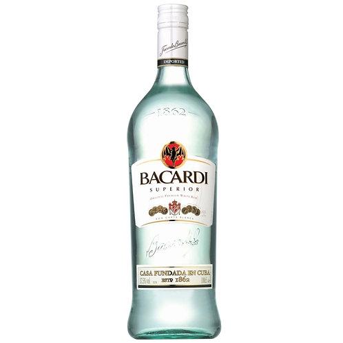 Bacardi White Rum - 1L