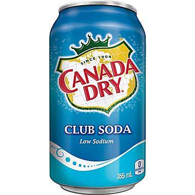 Canada Dry Club Soda - 6pk