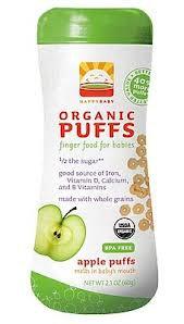 Happy Puffs-Gluten Free - 2.1oz Apple