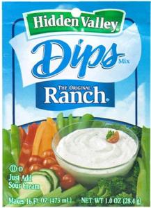Hidden Valley Ranch Dip -1 dry mix