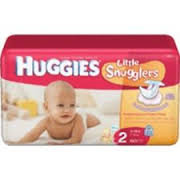 Huggies Supreme Stage 2  12-18lbs -38count