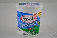 Yogurt -32oz tub Plain Yoplait