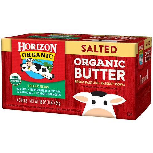 Horizon Organic Salted Butter - 1lb