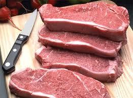 New York Steak 3pk Thick-cut USDA Choice