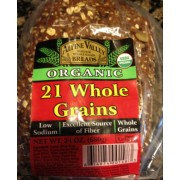 Alpine Valley Organic 21 Whole Grains Bread