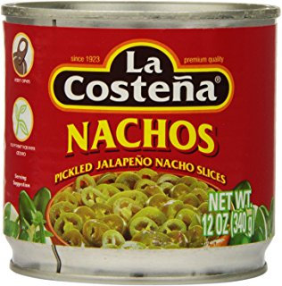 Jalapeños Nacho Slices -12oz can