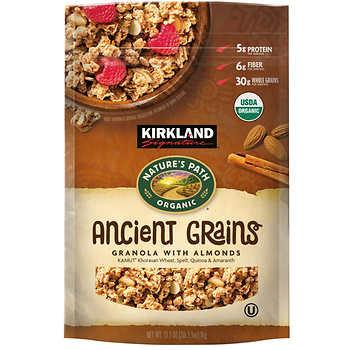Kirkland Granola Natures Path Organic-35oz/2pk