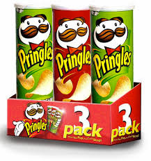 Pringles 3pk/sour cream,cheese,regular