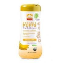 Happy Puffs Gluten Free-2.1oz Banana