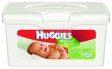 Huggies Wipes Natural Care  80ct