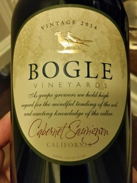 Bogle Cabernet Sauvignon - Calif.