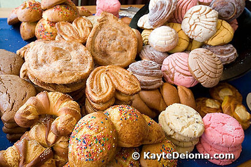 Mexican Sweet Bread-Variety Box of 10 mini-size