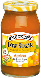 Smucker's Apricot -More Fruit/Less Sugar Jam