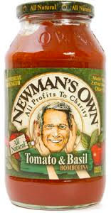Newman's Own Spagetti Sauce - 24oz tomato basil