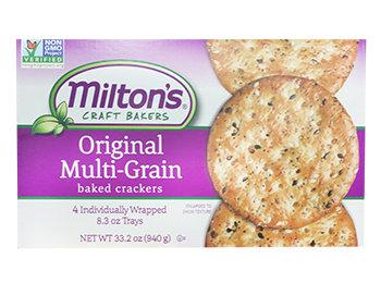 Milton's Crackers- Multigrain -Lg Box