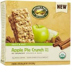 Nature's Path Granola Bars -apple pie crunch-6
