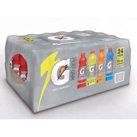 Gatorade-- Case of 24/500ml