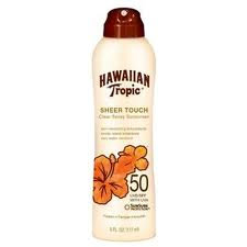 Hawaiian Tropic Sunscreen Spray-50spf