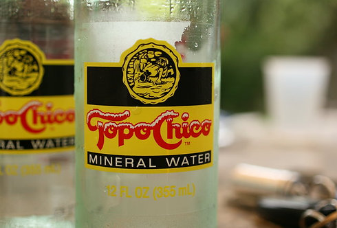Topo Chico Mineral Water -12/600ml