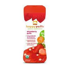 Happy Puffs Gluten Free-2.1oz Strawberry