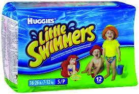 Huggies Little Swimmer  Sm 16-26lbs  12count