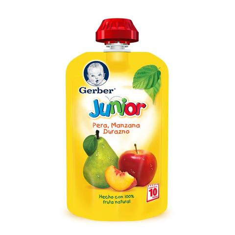 Case of 12 Gerber Pouches - Fruit Variety